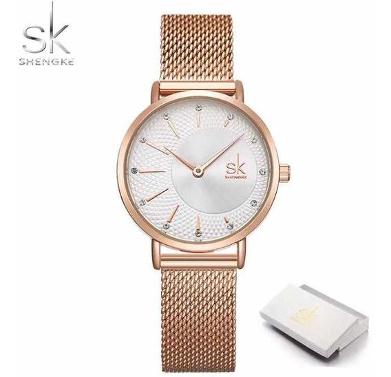 Relógio Feminino Sk Luxo
