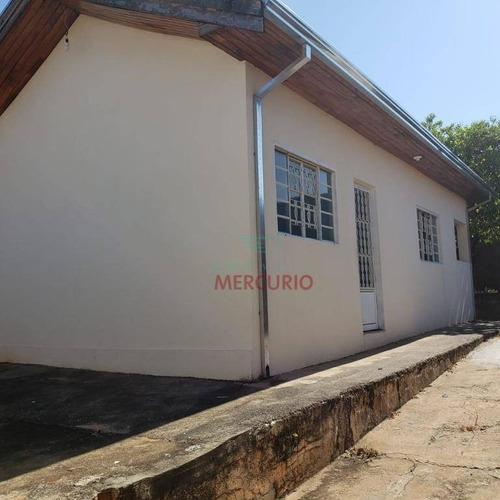 Casa Com 2 Dormitórios À Venda, 47 M² Por R$ 180.000,00 - Jardim Vânia Maria - Bauru/sp - Ca3225