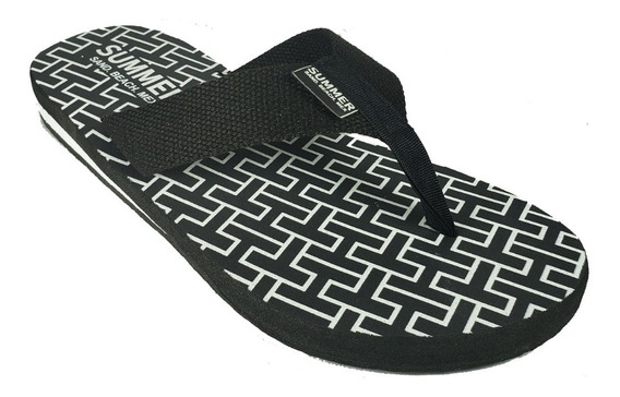 Sandalias Summer Unisex Tipo Tommy Maximo Confort