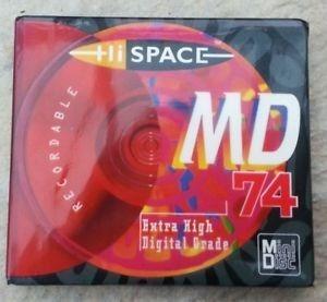 Minidisc Hi Space De Audio Digital Virgen Nuevo Sellado