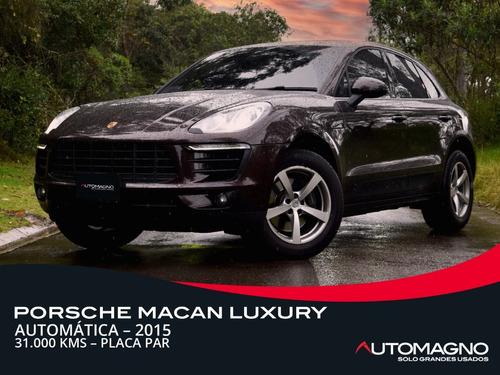Porsche Macan Luxury 2015 At