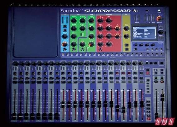 Mesa De Som Digital Soundcraft Si Expression 2