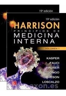 Harrison Principios De Medicina Interna 19ava.edicion 2tomos