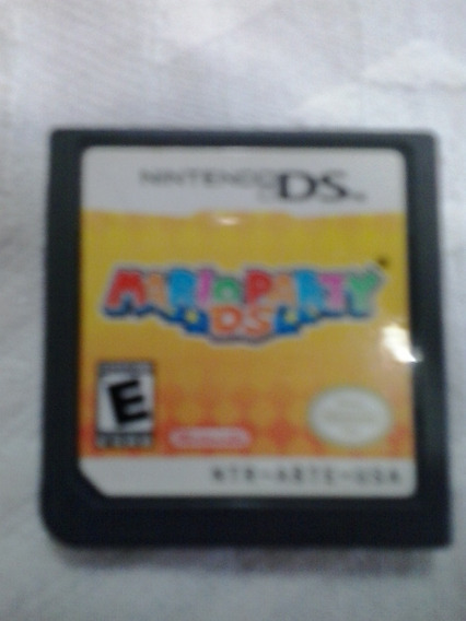 Mario Party Ds + Encartes Nintendo Ds Original Frete 10