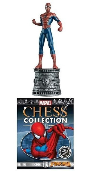 Mcc 01 Miniatura Spider-man Marvel Chess - Bonellihq D19