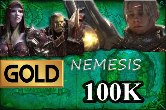 Gold Wow - 100k Nemesis - Azralon