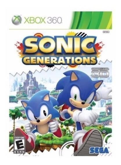 X360 Sonic Generations **x360** **new**