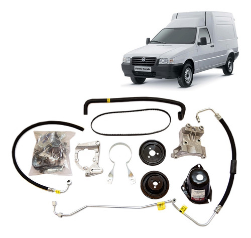 Imagem 1 de 4 de Kit Direção Hidraulica Completo Fiat Uno S/ Ar Fiorino