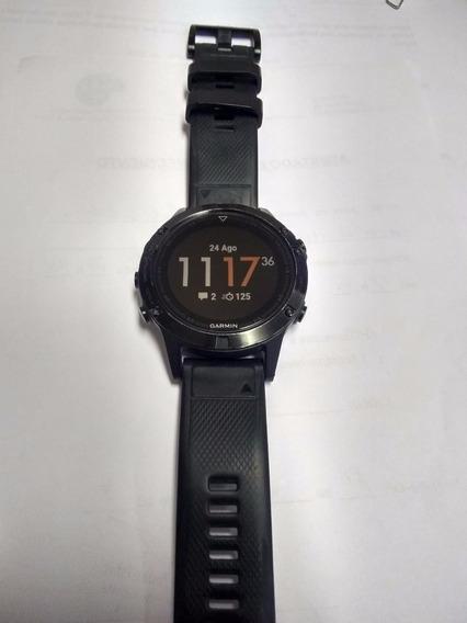 Relógio Garmin Fenix 5 Safira - Usado