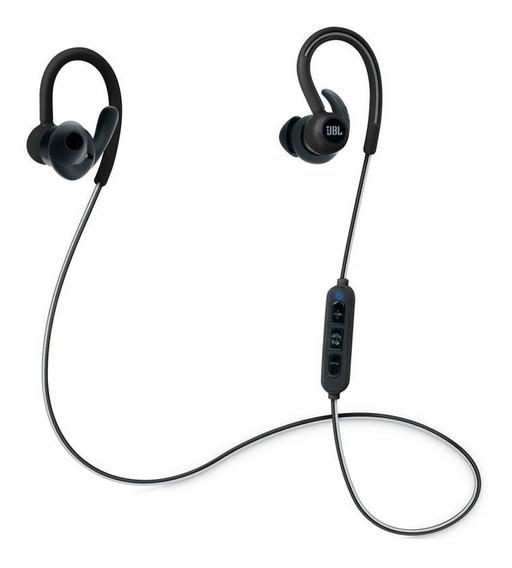 Fone De Ouvido Jbl Reflect Contour Bluetooth Preto Com Nota