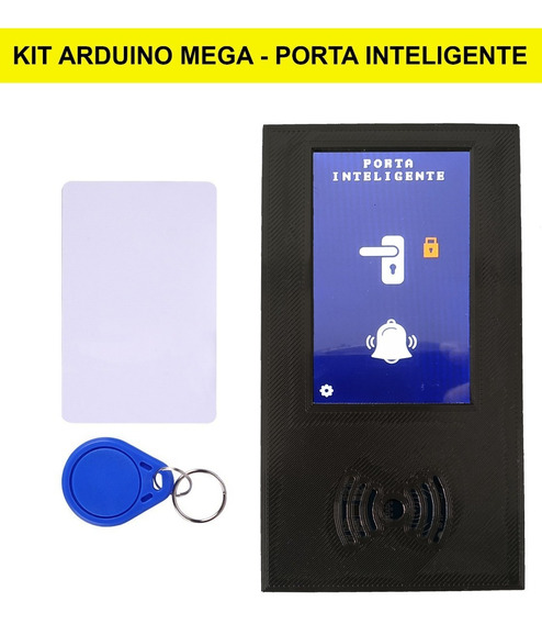 Kit Arduino Mega + Lcd Touch + Placa Rfid + Buzzer + Case