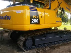 Excavadoras Komatsu Pc200-8 Case Cx201b, Bulldozer D65 Y D8