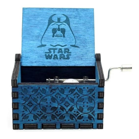 Caixinha Caixa De Música Star Wars Manivela