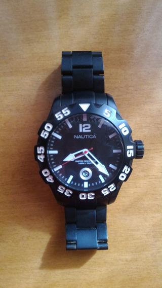 Relógio Masculino Náutica Com Pulseira Em Aço