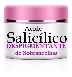 Promoção: Despigmentante De Sobrancelhas - Ácido Salicílico