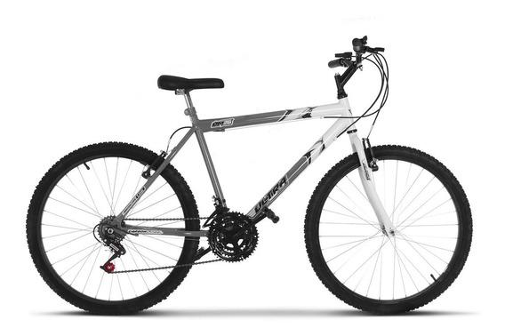 Bicicleta Aro 26 Masculina Ultra Bike Bicolor Adulto