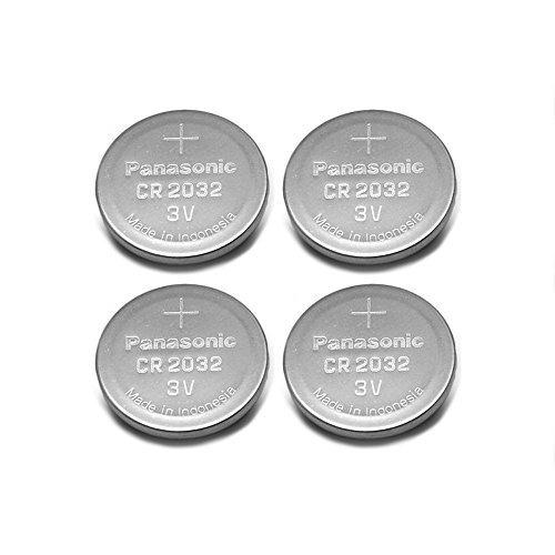 Batería Litio Panasonic Cr2032 3v Paquete 4