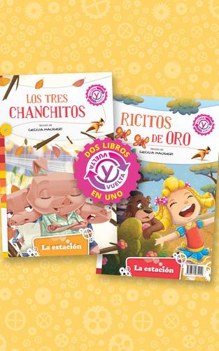 Imagen 1 de 1 de Los Tres Chanchitos Ricitos De Oro - Estación Mandioca -