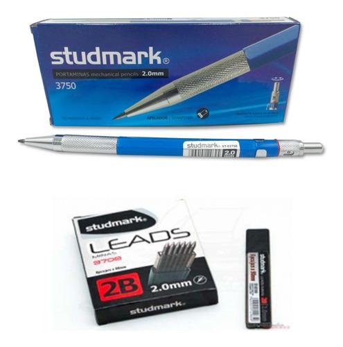 Kit  Caja Portamina  Studmark Y Minas Studmark 2.0 Mm  2b