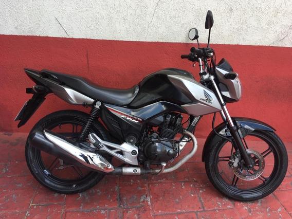 Honda Cg 150 Fan 2014 Esdi Preta