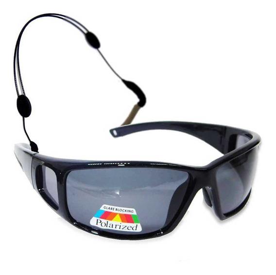 Óculos Polarizado Pesca Marine Sports 2648 Smoke + Segurador