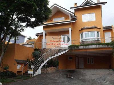 Casa De Condomínio Com 4 Quartos À Venda Cotia - R$ 2.450.000 - V195