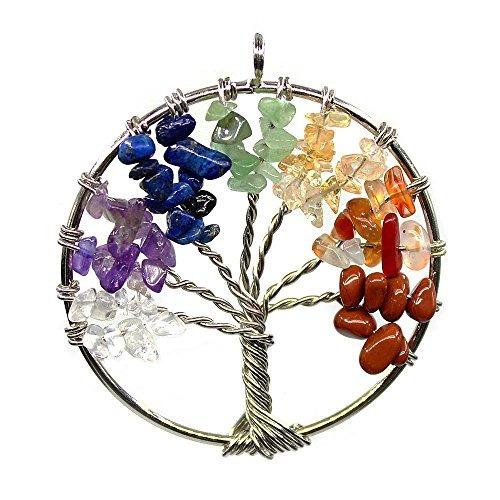 Amuleto Sanación Arbol Reiki Arbol De La Vida Chakra