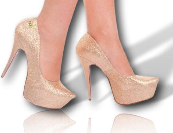 Sapato Feminino - Estilo Importado - Com Pequenos Defeitos