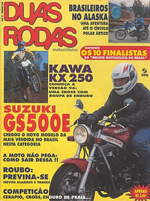 2r.246 Mar96- Suzuki Gs500e Jawa1950 Kawasaki Kx250 Ignição