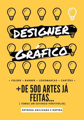 Arte Digital Designer Gráfico Logomarca Banner Cartão Visita