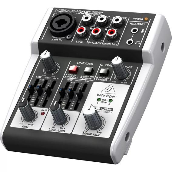 302 Usb Mesa De Som Behringer Xenyx 302 Usb Lc Audio