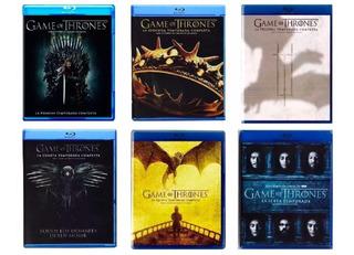Game Of Thrones Juego De Tronos Paquete 6 Temporadas Blu-ray