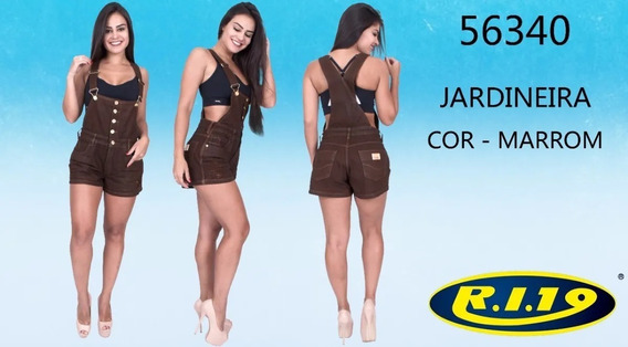 Jardineira Feminina Ri19 Jeans 56340