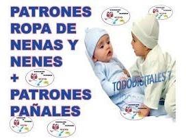 Patrones Ropa De Bebe Pijamas Gorros Camisetas Envio Digital