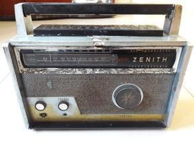 Rádio Antigo Zenith Trans Oceanic All Trans Leia A Descrição
