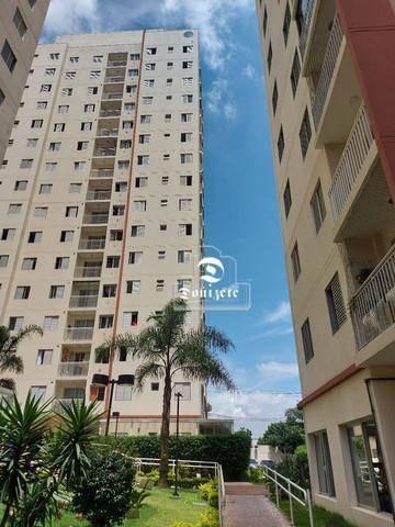 Apartamento À Venda, 60 M² Por R$ 289.000,00 - Vila Homero Thon - Santo André/sp - Ap16431