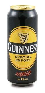 Cerveza Guinness Special Export Irlanda Lata 500cc.