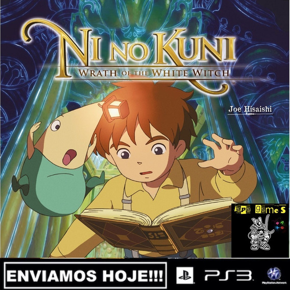 Ni No Kuni Wrath Of The White Witch Ps3 Jogos Psn