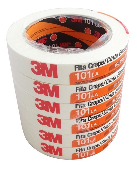 Kit Fita Crepe 18mm X 50m 101la 3m