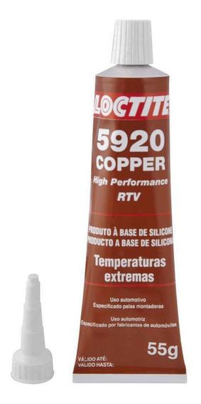 Silicone Alta Temperatura Loctite 5920 Ultra Copper 55g