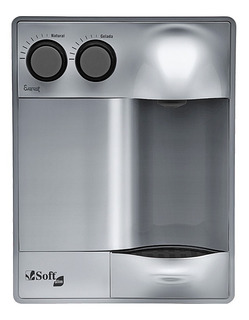 Purificador Água Refrigerado Por Compressor Soft Slim Prata