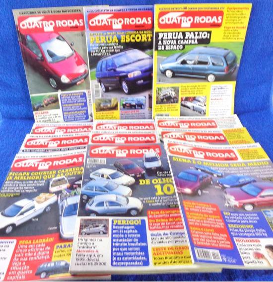 Quatro Rodas Lote Revista (12) N°449,448,439,440,438,447...