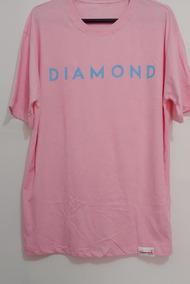 51a676044 Camiseta Diamond Rosa - Calçados