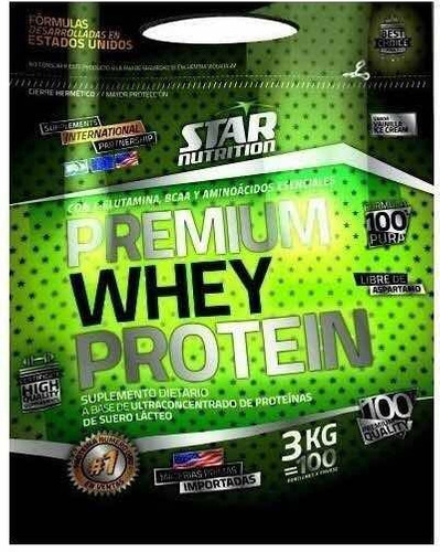 Premium Whey Protein Star Nutrition 3kg Oferta Especial
