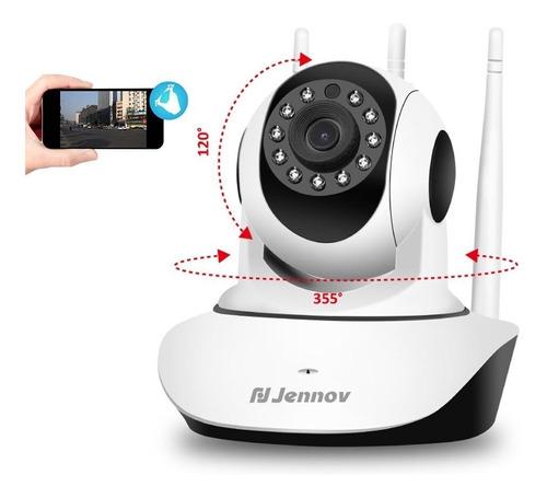 Camara Ip 3ant Robotica 360° Wifi Visión Nocturna + Sd 64gb