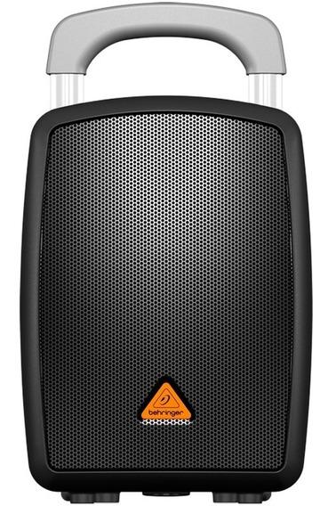 Caixa Som Ativa Bluetooth 40w Bateria Recarregável Behringer