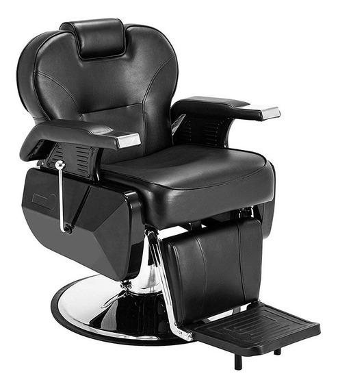 Sillon Barbero Hidraulico Onof Peluqueria Silla Reclinable Barberia Estetica Salon Barber Profesional Colores