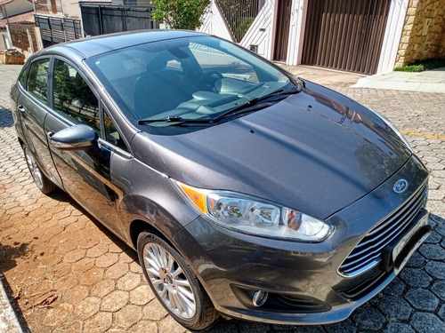 Ford Fiesta Sedan 2015 1.6 16v Titanium Flex Powershift 4p