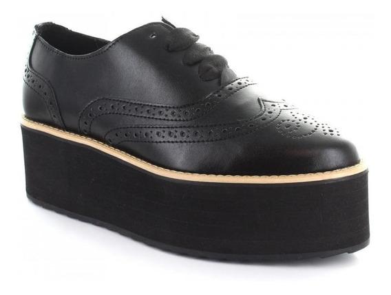 Zapato Para Mujer Brantano 9246-049772 Color Negro