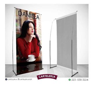 Banner Lona Blackout 90x190 Calidad Económico